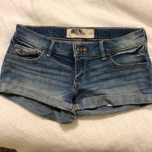 Hollister Denim Short Shorts